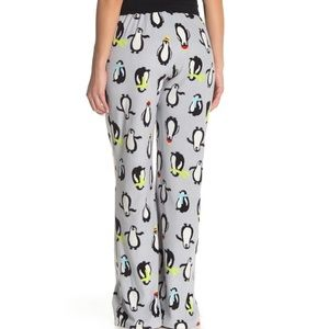 Free Press Fleece Penguin Pajama Pants